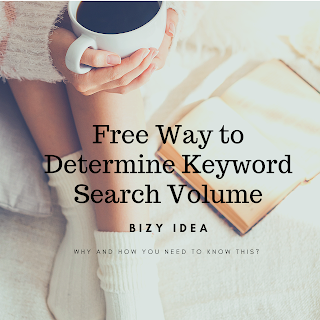 Free Way to Determine Google Keyword Search Volume
