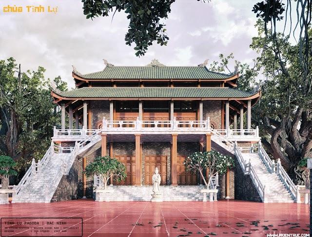 File 3D chùa Tĩnh Lự