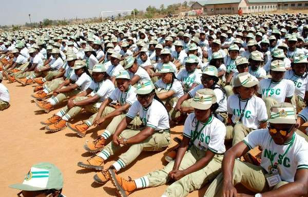 NYSC corpers in camp