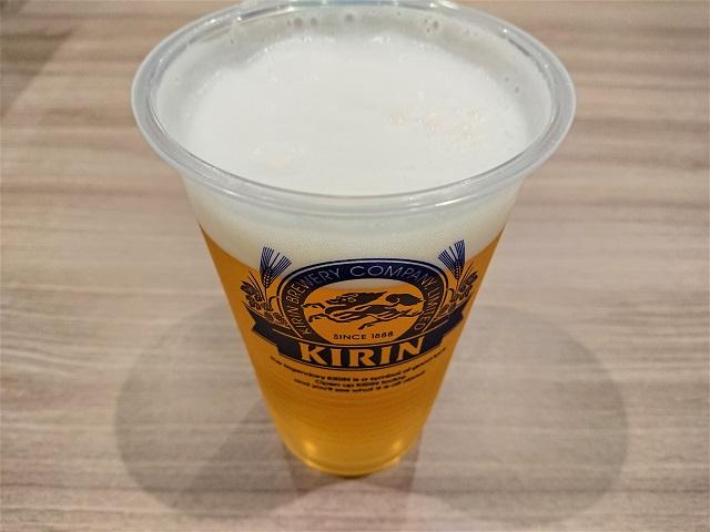 蘭々の湯 ビール