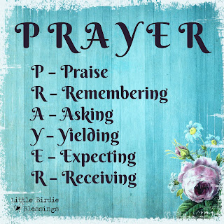 6 Scriptures for PRAYER & Free Graphic