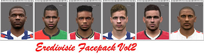 PES 2016 Eredivisie Facepack Vol2 by Professiona
