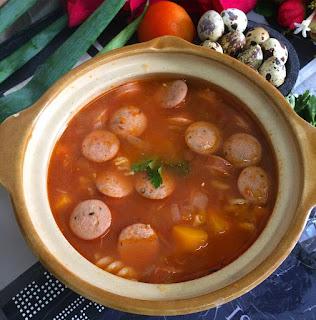 Ide Resep Masak Sup Merah Ayam Kampung