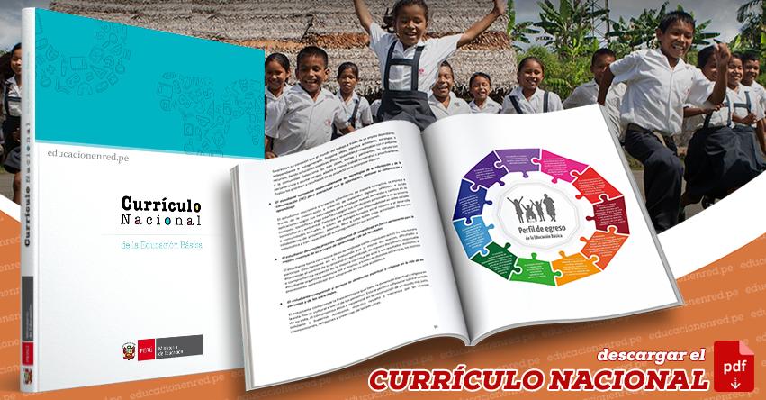 ¿QUÉ ES EL CURRÍCULO NACIONAL? (R. M. Nº 281-2016-MINEDU) .PDF
