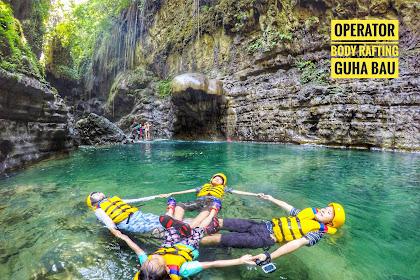 Rafting di Pangandaran | Operator Body Rafting Guha Bau