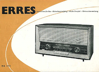catalogue radio Erres RA615