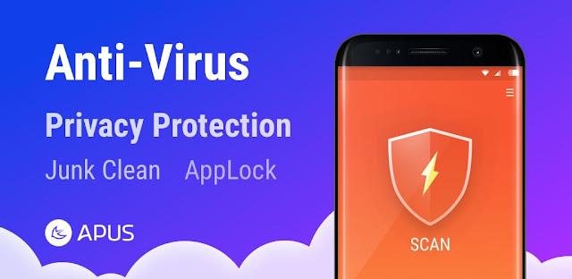 قم بتنزيل APUS Security Clean Virus، Antivirus، Booster 1.2.6 - أدوات الحماية من الفيروسات والأمان للهواتف الذكية