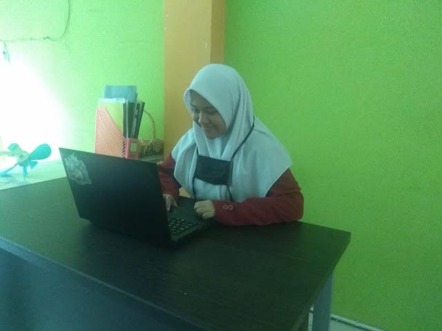 Empat Siswa SMAT Al Qudwah Jalani KSN-P secara Daring: Alhamdulillah Lancar.