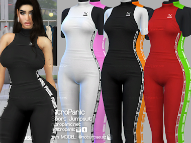Sport Jumpsuit for The Sims 4
