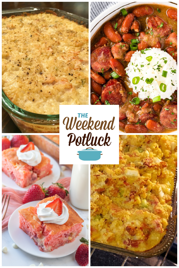 A virtual recipe swap with Mamaw's Chicken & Rice Casserole, Red Beans & Rice, Strawberry Earthquake Cake, Aunt Betty's Famous Ham Dressing and dozens more!
