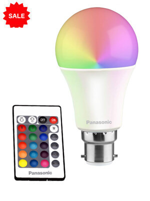 LED Bulb with Remote control -12 Color changing options