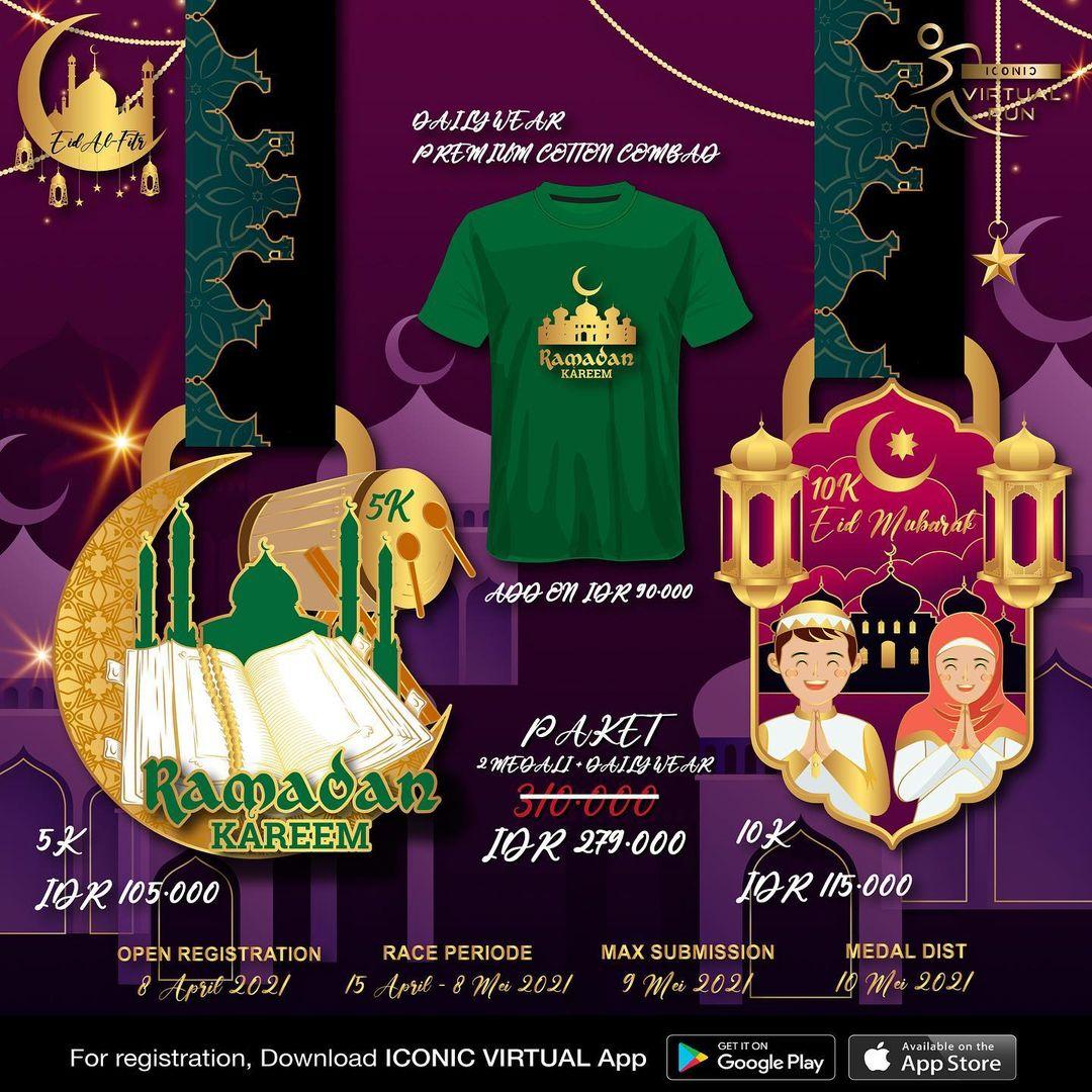 Iconic Virtual Run ∙ Eid Al-Fitr Series • 2021