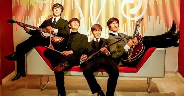 Estátua dos Beatles no museu Madame Tussauds, uma das atrações do Berlin Pass