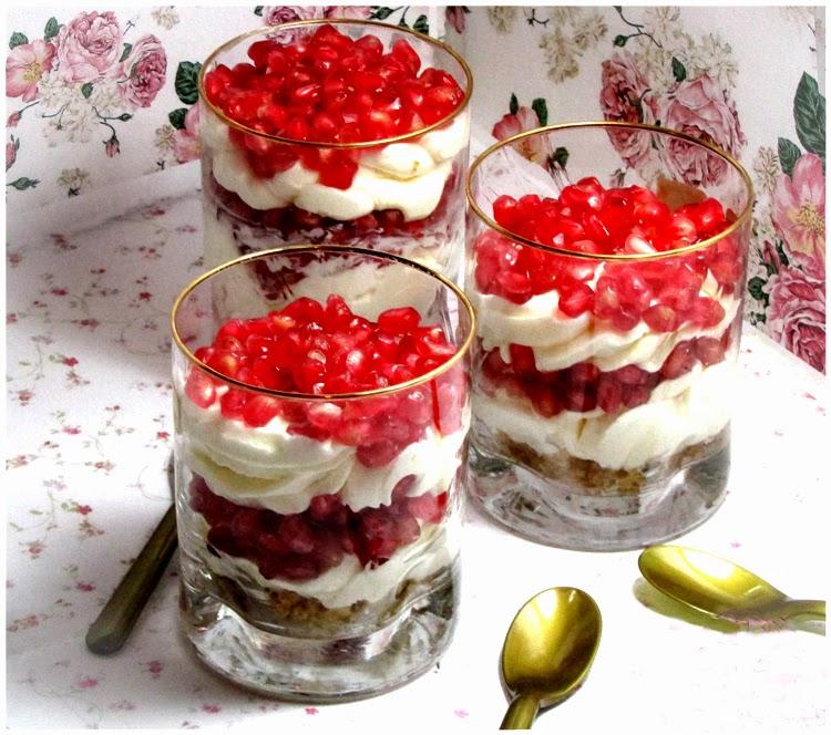 Recetas Con Fruta Granada Trifles Postre Tipico Ingles