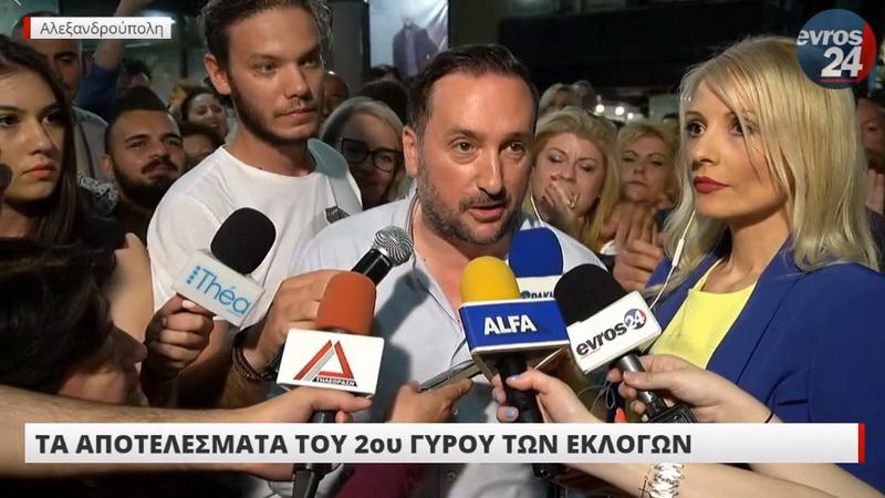 Δήμαρχος Αλεξανδρούπολης ο Γιάννης Ζαμπούκης