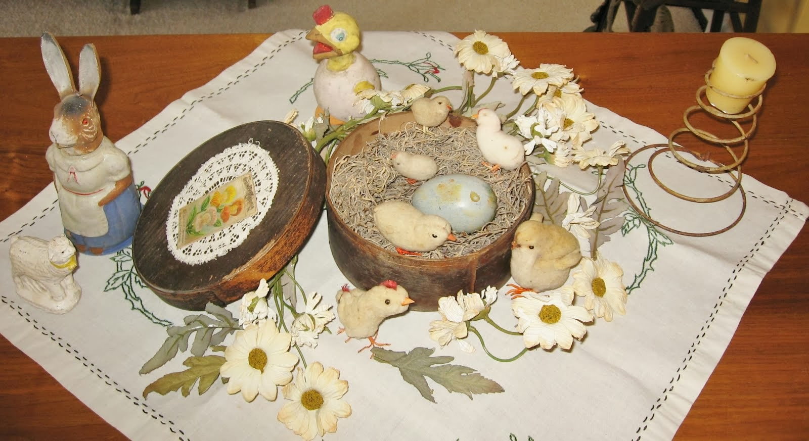 Antique Easter Basket