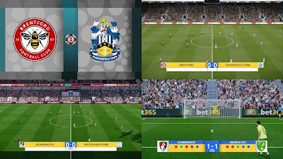 PES 2021 BBC Scoreboard EPL, EFL, FA Cup by Spursfan18