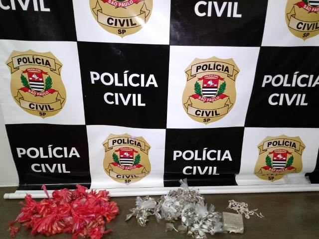 Polícia Civil prende homem por tráfico de drogas e receptação no Vale do Ribeira