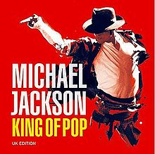 An image depicting Michael Jackson as the undisputed King of Pop music