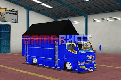 Mod Bussid truck Mitsubishi terpal 2020