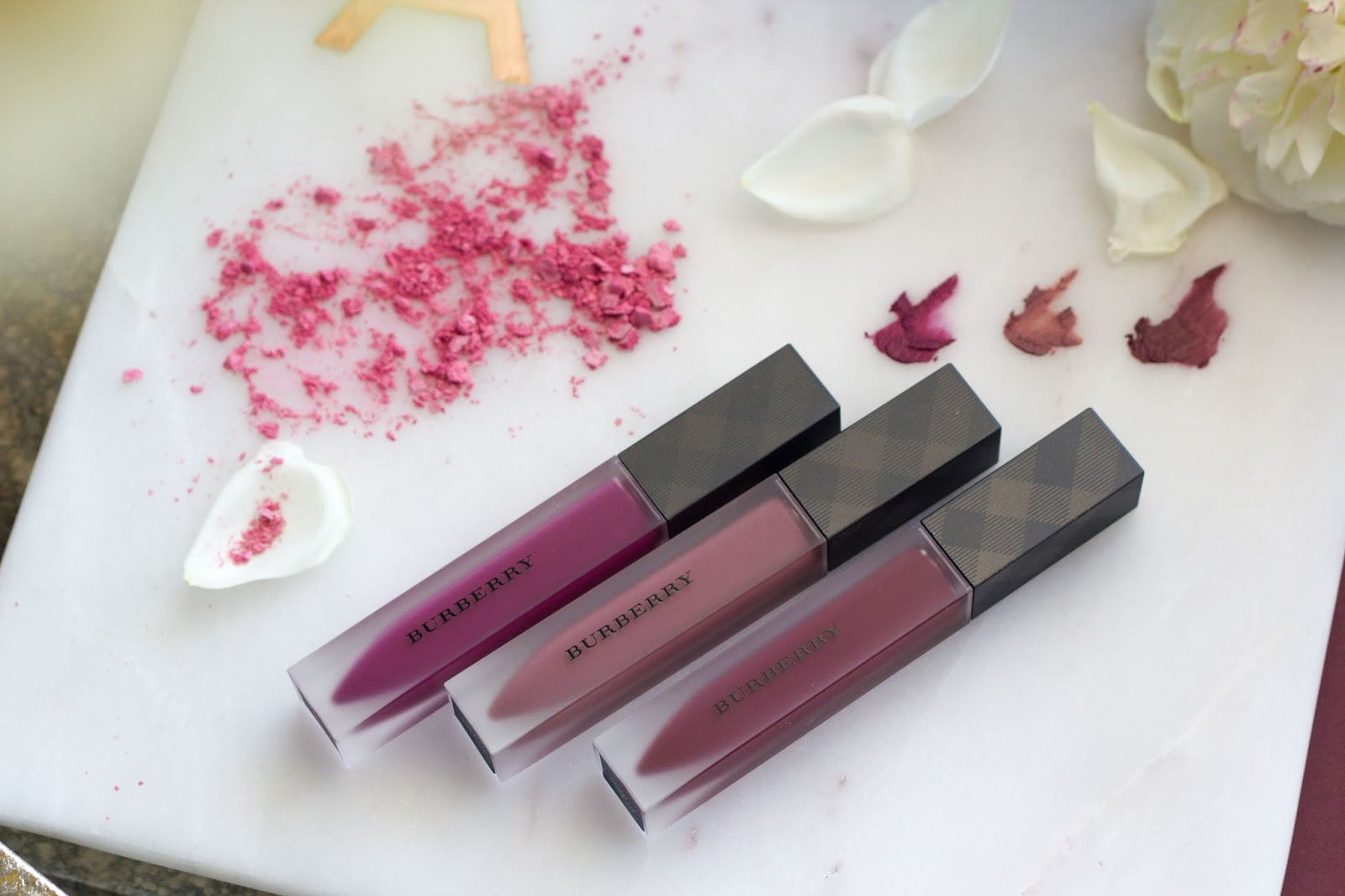 Burberry London Beauty liquid lip velvet lip colors