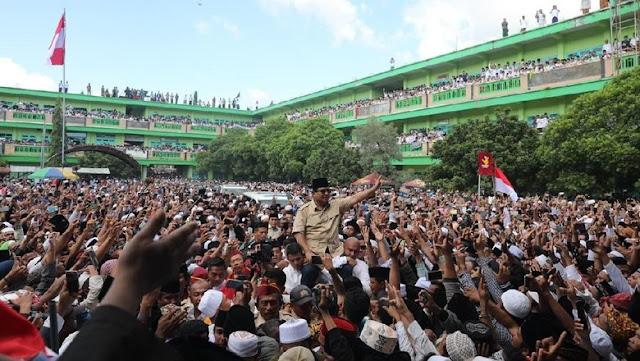Prabowo: Sehari Setelah Terpilih, Saya akan Jemput Habib Rizieq