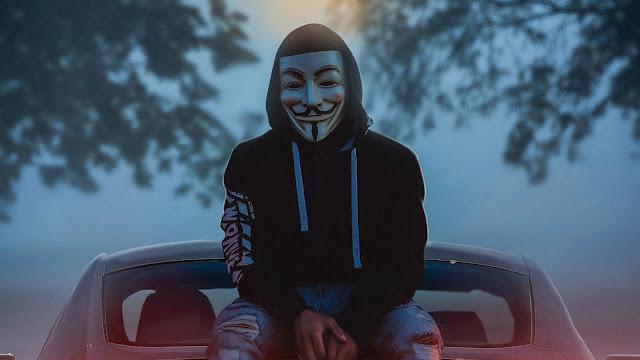 Anônimo Máscara de Hacker