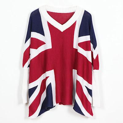 41e4bd474c4ed Moje życie w Waszym świecie  Ubrania z flagami- UK vs. USA