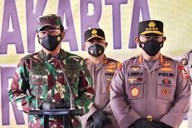 Hadi Tjahjanto dan Listyo Sigit Prabowo Beri Arahan Khusus ke TNI-Polri yang Bertugas di Papua.lelemuku.com.jpg