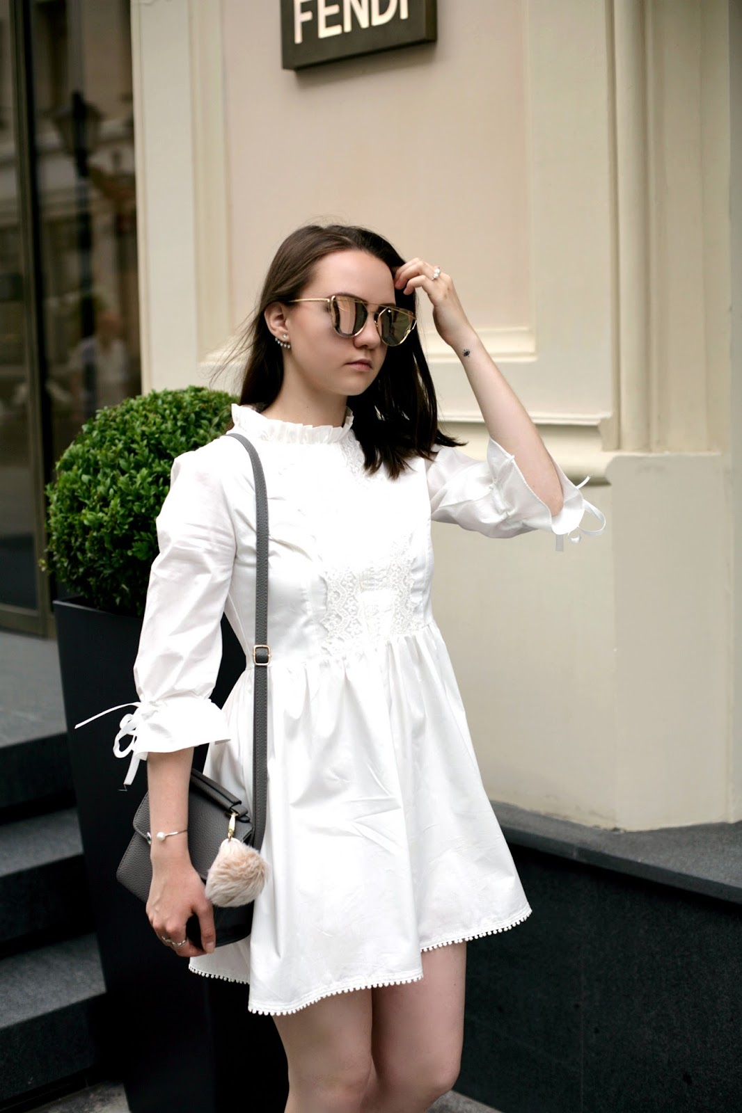 White Dress | Fashion Blogger | Street Style