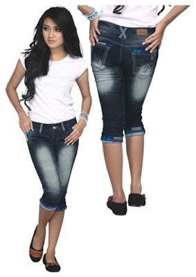 Celana Jeans Wanita Pendek Bandung