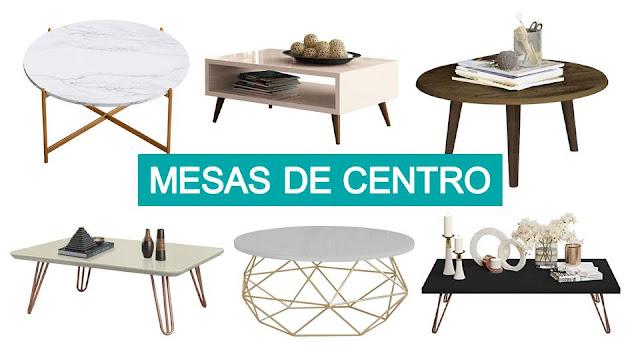 6 Mesas de Centro para usar em seus Projetos