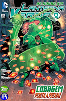 Os Novos 52! Lanterna Verde #25