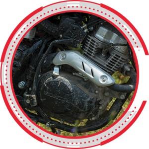 POWERFUL ENGINE 150CC PGM-FI NEW HONDA CRF150L 2018 Sejahtera Mulia Cirebon