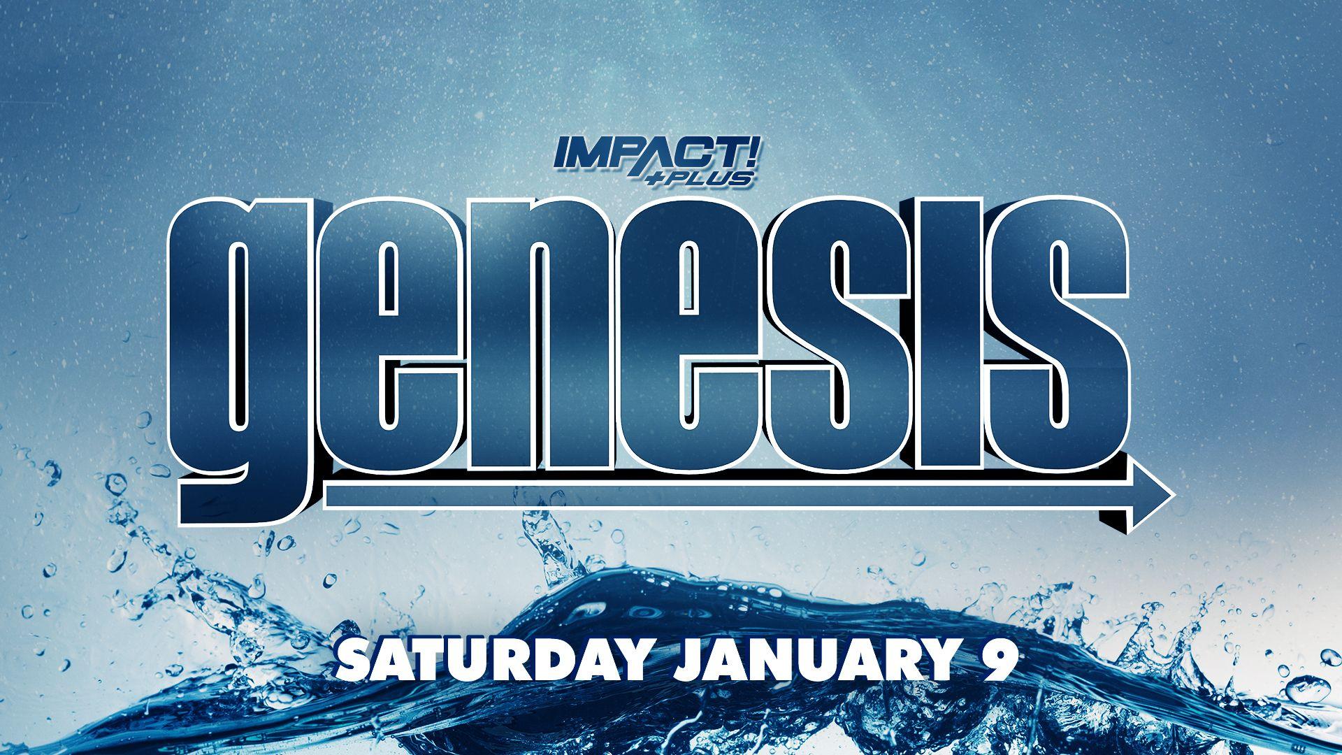 IMPACT Wrestling anuncia o especial Genesis para o próximo mês