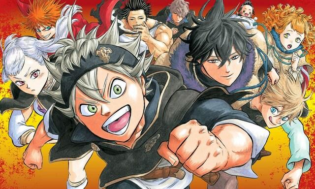 Black Clover Manga 296