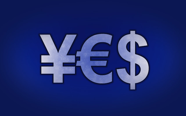 Money Symbols Yen Euro Dollar World HD Wallpaper