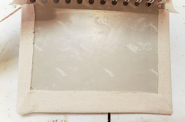 glue raw edges