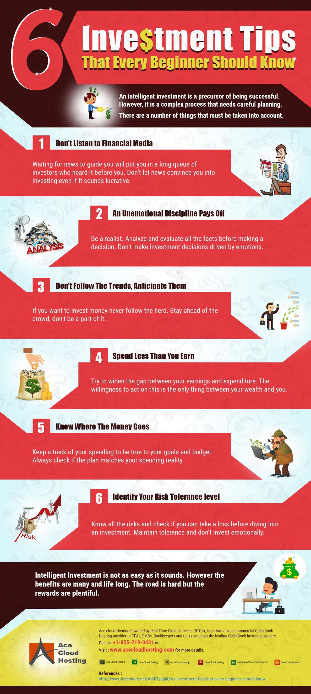6 Investment Tips that Every Beginner Should Know #infographic