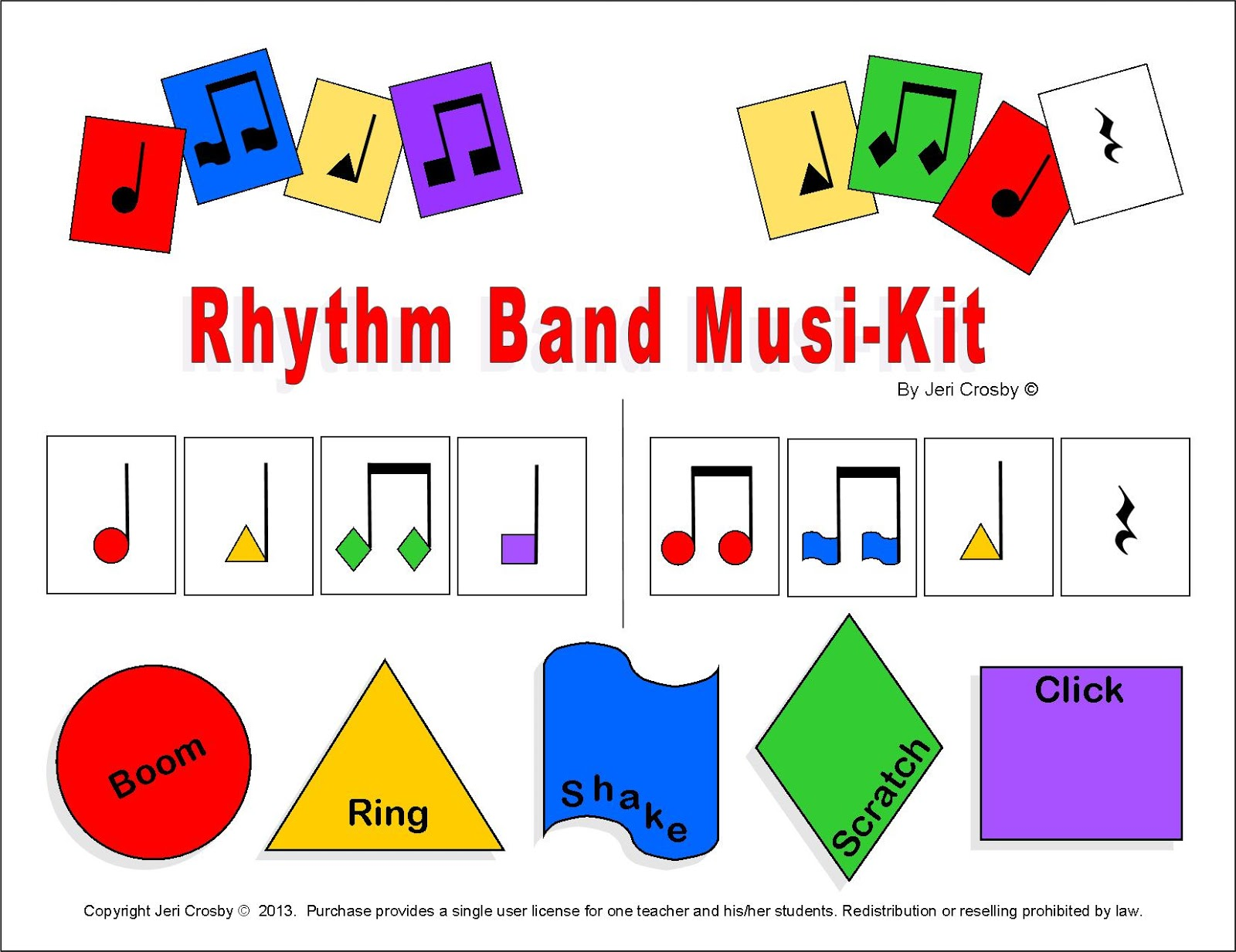 Mymusicalmagic Rhythm Instrument Activities