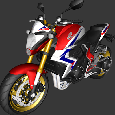 GTA SA - CB 1000R BARRACUDA