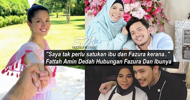 """""""Saya tak perlu satukan ibu dan Fazura kerana.."""" - Fattah Amin Dedah Hubungan Fazura Dan Ibunya"""