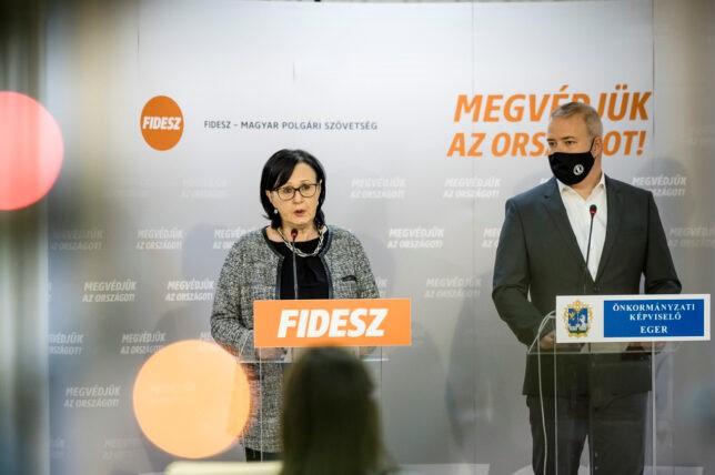 Fidesz-KDNP: a kormány 600 milliós támogatást adott Egernek, és kompenzálja az adókiesésből származó veszteséget