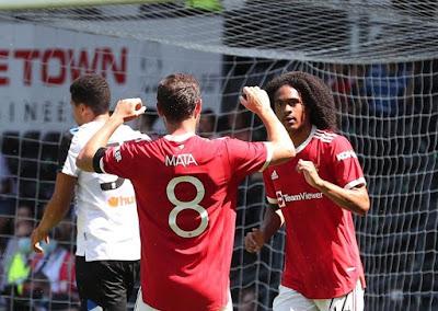 ملخص واهداف مباراة مانشستر يونايتد وديربي كاونتي (2-1) مباراة ودية