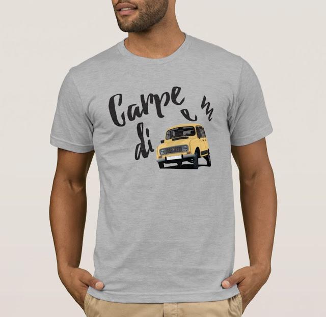 Carpe diem - Renault 4 t-shirt
