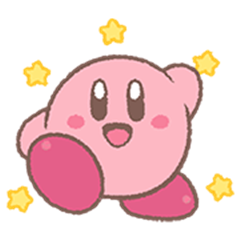 Kirby's Puffball Sticker Set