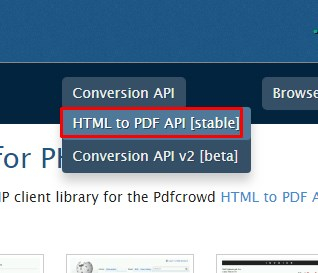 How To Convert Html To Pdf In Php With Pdfcrowd