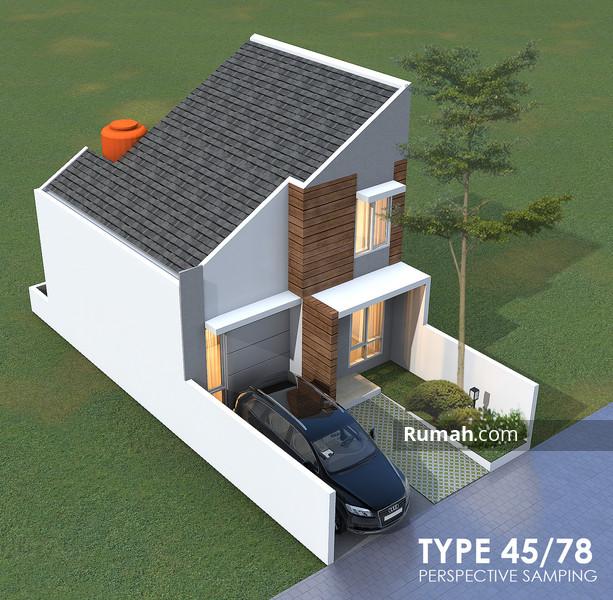 Tampak Samping Casa Andara Type 45/78