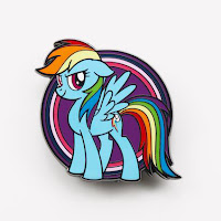 My Little Pony Rainbow Dash AR Pin by Pinfinity