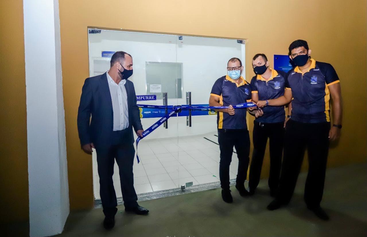 Equatorial entrega novo pavilhão na Casa de Cultura para filarmônica de Santarém